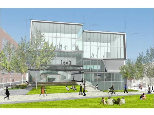 Creative Arts Center - The 35,000-square-foot facility features a recital hall, flexible production spaces, an outdoor amphitheater, and several laboratories and production studios.